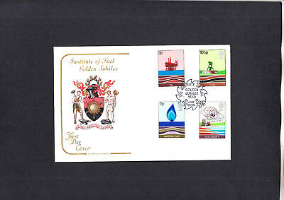 1978 Energy Institute of Fuel Golden Jubilee Year London Cotswold Official FDC