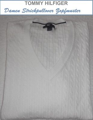 >>> Tommy Hilfiger >>>   DAMEN   STRICKPULLOVER   PIMA  COTTON     Gr. 40 - 42