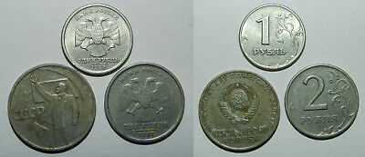 3 X Russia Coins