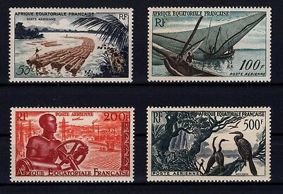 P36559/ Aef French Equatorial Africa – Sg # 273 / 276 Neufs ** / Mint Mnh 82 €