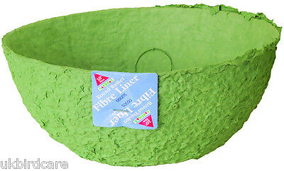 Fibre Basket Liners Available in 3 Different Sizes - Hanging Basket Fibre Liners