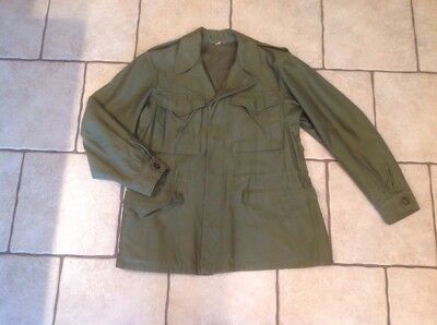 Wwii 42-44R  M43 Combat Cold Weather Field Jacket M1943R Near Mint