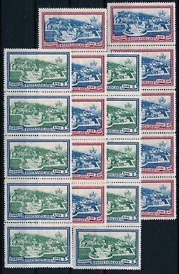 [H3419] Vatican 1933 : 10x Good Set of Very Fine MNH Express Stamps