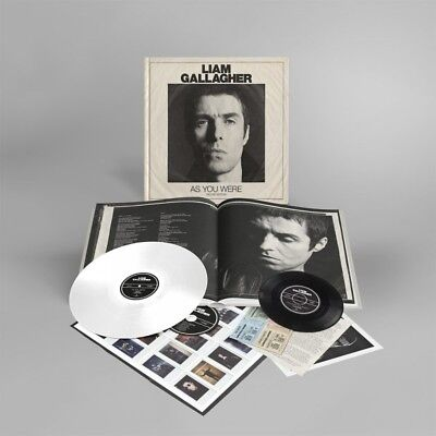 "LIAM GALLAGHER AS YOU WERE DELUXE VINYL SET (LP/Deluxe CD/7""/Print)"