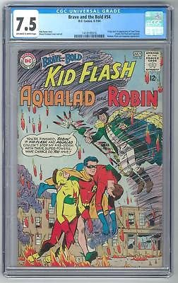 Brave and the Bold #54 CGC 7.5 1s Appearance of Teen Titans