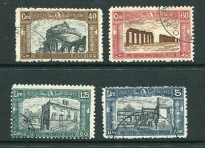 ITALY 1926 MILITIA I Used (cto) Set 4 Stamps