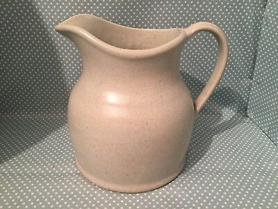 Large grey Buchan Portobello Scotland stoneware jug or vase. 49/60. M11.