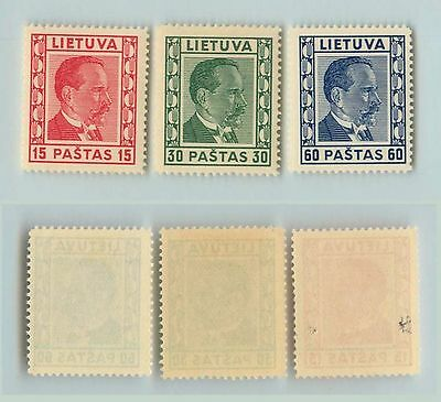 Lithuania, 1936, SC 298-300, mint. rt5667
