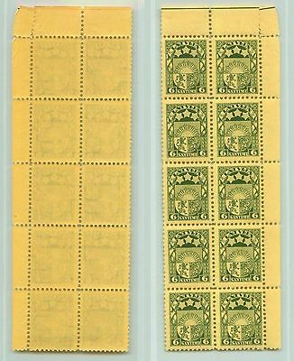 Latvia, 1931, SC 155, MNH, block of 10. rt6525