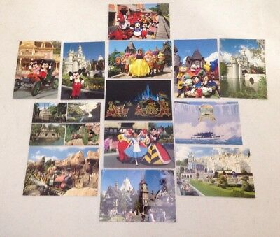 Lot Of 13 Vintage Disney Postcards
