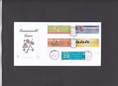 2002 Commonwealth Games Stuart FDC with Fence CDS. Probably only 11 covers