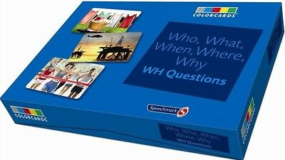 Who What When Where Colorcards, Speechmark, 9781909301139