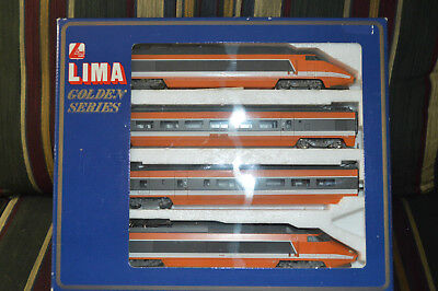 Ho Lima Golden Series 149711 G French Rail Tgv Sncf Engine & 3 Car Train Set