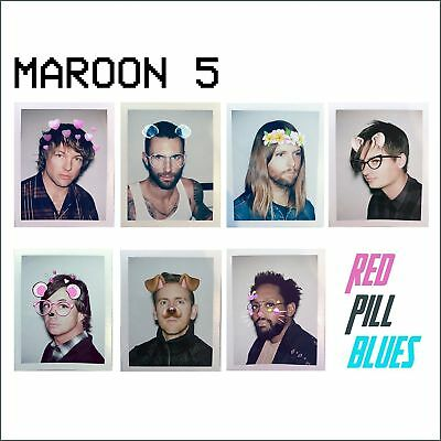 MAROON 5 RED PILL BLUES DELUXE 2 CD (Nov 3 2017)