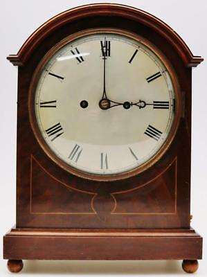 Antique W & H Walnut Twin Fusee 3/4 Musical Westminster Chime Bracket Clock