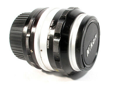Nikkor-S 50mm f1.4 Standard Lens Nikon Non Ai fit -V. Clean -Can Be Used on DSLR