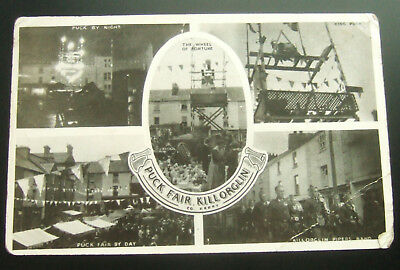 Postcard Real Photo : Ireland, Puck Fair, Killorglin, Co Kerry - Multi-View Card