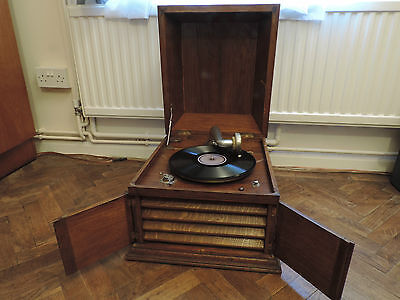 Vintage Gramophone Extra Sonore Concert Swiss Made