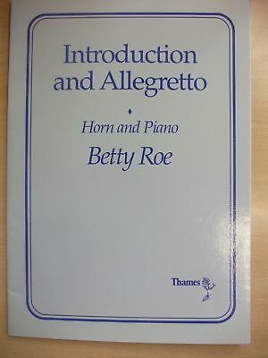 ROE 'Introduction and Allegretto' Eflat or F Horn pub. Thames