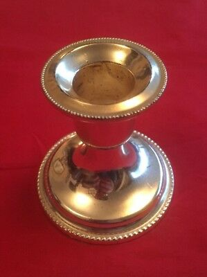 Antique Style Silver Plated Candlestick