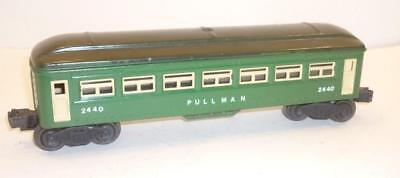 LIONEL 0 gauge POST-WAR PULLMAN PASSENGER CAR - GREEN - 2440,                  f
