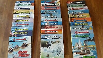 30 Commando Comics in excellent condition  issues 2206-2454  RAF Luftwaffe