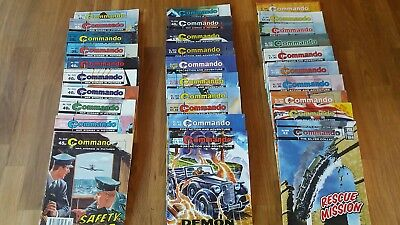 30 Commando Comics in excellent condition  issues 2470-4698  RAF Luftwaffe