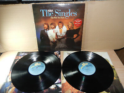 Abba - The Singles The First Ten Years (Epic) 2 x LP