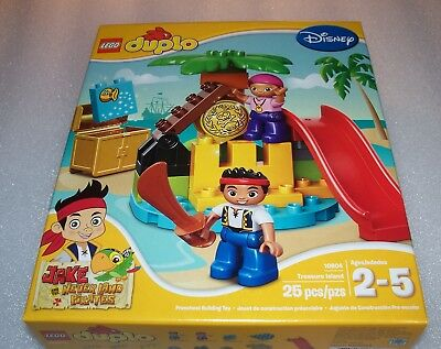 Lego DUPLO 10604 - JAKE and the NEVERLAND PIRATES - Treasure Island