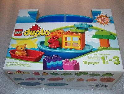 Lego DUPLO 10567 - Toddler Build and Boat Fun - Toddler Starter Set