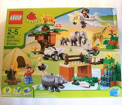 Lego DUPLO 6156 - PHOTO SAFARI  -  Animals, Plane, ATV