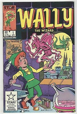 Wally The Wizard 4! G/vg 3.0 Copper Age Marvel Comic!