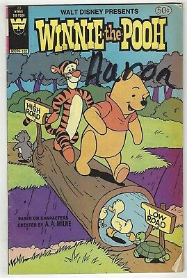 Winnie The Pooh 23! Gd+ 2.5! Cool Bronze Age Gold Key Comic Book!