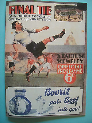 1932 FA Cup final programme,Ticket & free teamsheet Arsenal v Newcastle United.