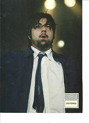 The Deftones, Chino Moreno, Full Page Pinup