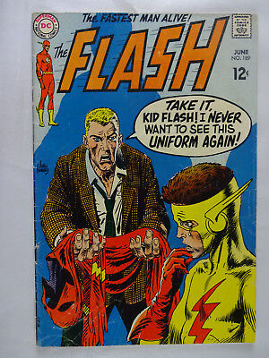 Flash #189   Silver Age  Blue Ghost   John Broome   Ross Andru  1969