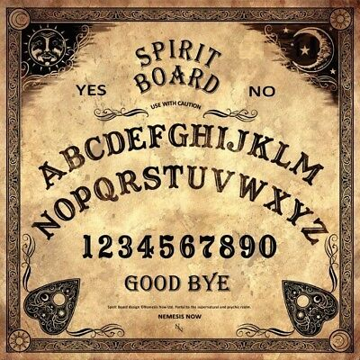 Nemesis Supernatural Psychic Spirit Ouija Board with Planchette Paranormal New
