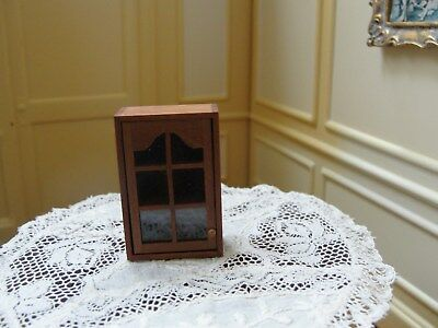 Dollhouse Miniature Half-Inch Scale  Kitchen Cabinet    Signed: MR