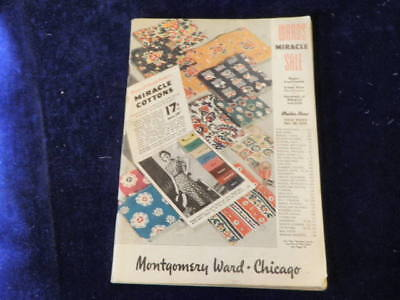 Vintage Feb 1939 Montgomery Ward MIRACLE Sale Catalog 216 Pages Q230