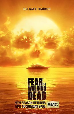 Fear The Walking Dead poster (b) : 11 x 17 inches