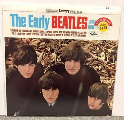 The Beatles The Early Beatles Factory Sealed Vinyl Album, ST 2309, Stereophonic,