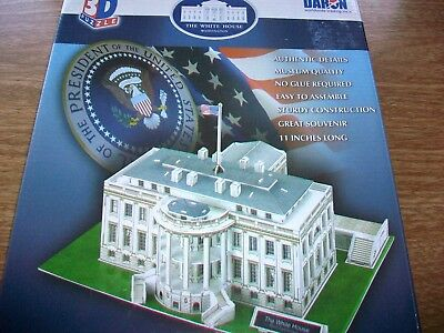 """3D PUZZLE """"THE WHITE HOUSE"""" - AUTHENTIC DETAILS by DARON"""