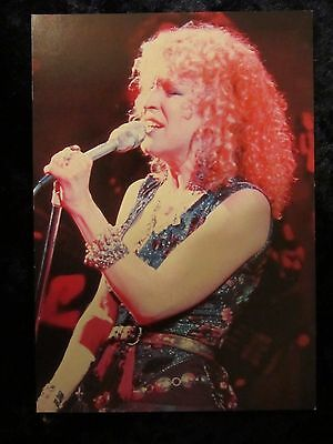 Bette Midler - The Rose - promotional card - 4 x 6 inches