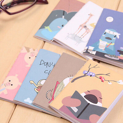 Retro Handmade Journal Memo Dream Notebook Paper Notepad Blank Pocket Diary