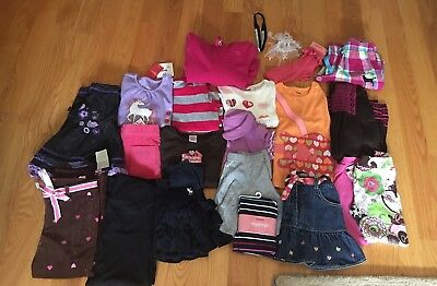 NWTS/EUC Girls lot of 22 Fall/Winter Clothes Size 4& 5 Gymboree, Gap,