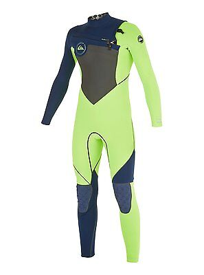 QUIKSILVER Youth 4/3 AG47 PERFORMAN C/Z Wetsuit - XGGK - Size 10 - NWT