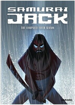 Samurai Jack: Season 5 [New DVD] 2 Pack, Ac-3/Dolby Digital, Dolby, Slipsleeve