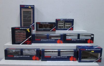 Tomix Tomix N Scale Layout Buildings & Accessories (9) LN/Box