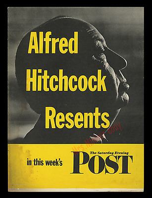 #1 Ultimate Alfred Hitchcock 🎥 Tv & Movie Poster 🎥 Rarest & Best On The Master