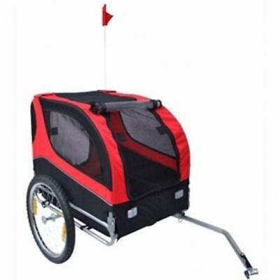 Dog Bike Trailer Carrier Bicycle  Pets Windows